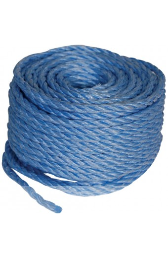 Poly Rope Coil (Blue)